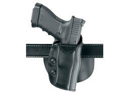 Safariland 568 Custom Fit Belt & Paddle Holster Right Hand Beretta 92, 96, 1911 Commander, CZ 75, 85, EAA Witness Composite Black
