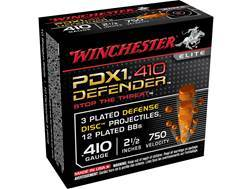 "Winchester Supreme Elite Self Defense Ammunition 410 Bore 2-1/2"" 3 Disks over 1/4 oz BB Bonded PDX1"