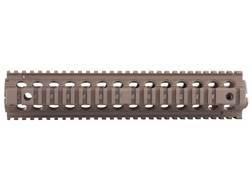 "Troy Industries 12"" MRF Drop-In Battle Rail 2-Piece Quad Rail Handguard AR-15 Rifle Length"