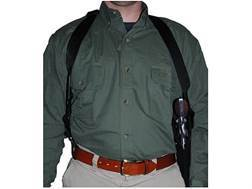 "Uncle Mike's Sidekick Vertical Shoulder Holster Right Hand Medium Double-Action Revolver 6 .5"" Barrel Nylon Black"