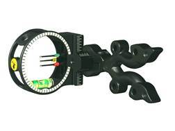 "Trophy Ridge Punisher 3-Pin Bow Sight with Light .029"" Pin Diameter Black"
