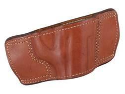 Ross Leather Belt Slide Holster Right Hand 1911 Leather Tan