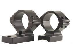 """Talley Lightweight 2-Piece Scope Mounts with Integral 1"""" Rings Savage 10 Through 16, 110 Through 116 Flat Rear Matte"""