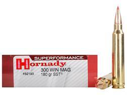 Hornady SUPERFORMANCE SST Ammunition 300 Winchester Magnum 180 Grain SST Box of 20