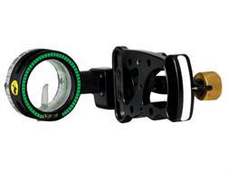 "Trophy Ridge Drive 1-Pin Bow Sight .029"" Pin Diameter Aluminum Black- Blemished"