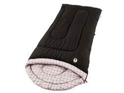 Coleman Richland Creek 30-50 Degree Contoured Sleeping Bag Polyester Black