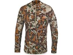 First Lite Men's Chama QZ 1/4 Zip Shirt Long Sleeve Merino Wool Fusion Camo 2XL 49-52