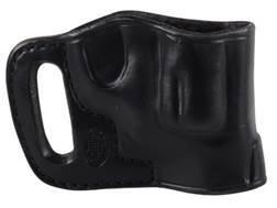 El Paso Saddlery Combat Express Belt Slide Holster Right Hand Smith & Wesson J-Frame Leather Black