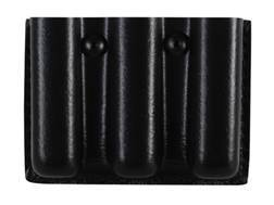 Safariland 775 Slimline Open-Top Triple Magazine Pouch Glock 17, 22, 34, 35, Sig Sauer P220, P226, P229, SP2340 Laminate Black