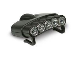 Cyclops Orion5 27 Lumen LED Hat Clip Light Black