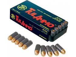 TulAmmo Ammunition 45 ACP 230 Grain Full Metal Jacket (Bi-Metal) Steel Case