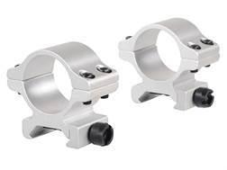 "Millett 1"" Angle-Loc Detachable Rings Weaver-Style Silver Low"