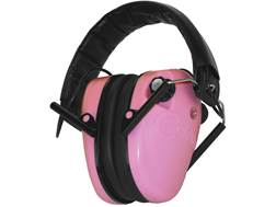 Caldwell E-MAX Low Profile Electronic Earmuffs (NRR 23dB) Pink