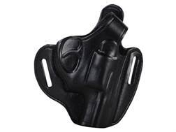 Bianchi 56 Serpent Outside the Waistband Holster Right Hand Ruger LCR Leather