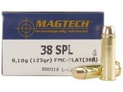 Magtech Sport Ammunition 38 Special 125 Grain Full Metal Jacket