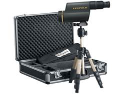 Leupold Golden Ring HD Spotting Scope 12-40x 60mm Shadow Gray with Tripod, Window Mount, Digital Camera Adapter and Aluminum Case