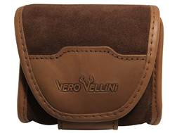 Vero Vellini Cartridge Case with 12 Cartridge Insert Suede Natural Brown