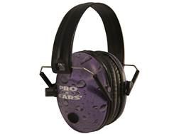 Pro Ears Pro 200 Electronic Earmuffs (NRR 19 dB) Purple Rain