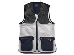 Beretta Men's Ambidextrous Shooting Vest Cotton/Polyester Navy Large