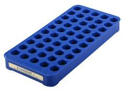 Frankford Arsenal Perfect Fit Reloading Tray #7 7mm Remington Magnum, 405 Winchester, 458 Winchester Magnum 50-Round Blue