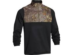 Under Armour Men's 1/4 Zip Caliber Shirt Long Sleeve Polyester