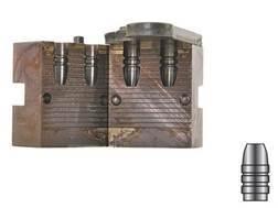 Lyman 2-Cavity Bullet Mold #257420 25 Caliber (258 Diameter) 65 Grain Flat Nose Gas Check