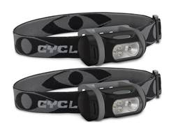 Cyclops Titan XP Headlamp LED with 3 AAA Batteries Polymer Black and Gray Package of 2