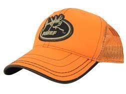 Rocky Mountain Elk Foundation Mesh Logo Cap Cotton and Polyester Blaze Orange