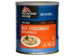 Mountain House 10 Serving Beef Stroganoff with Noodles Freeze Dried Food #10 Can
