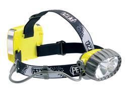 Petzl DUO 5 Waterproof Rechargeable 40 Lumen LED Headlamp Black and Yellow