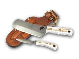 Knives of Alaska Triple Knife Set Stag Handles