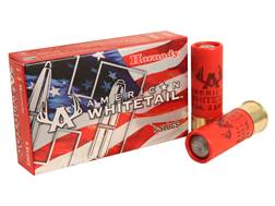 "Hornady American Whitetail Ammunition 12 Gauge 2-3/4"" 1 oz Rifled Slug Box of 5"