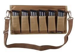 MidwayUSA 6 Magazine Pouch Double Stack Pistol Nylon Coyote