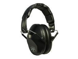 Walker's Duck Commander PRO-Low Profile Folding Earmuffs (NRR 31dB) Black