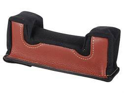 Edgewood Front Shooting Rest Bag Common Varmint Width Leather and Nylon Black Unfilled