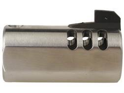 Volquartsen V-Comp Compensator with Front Sight Slab-Side Barrel Ruger Mark II, III, 22/45 Silver