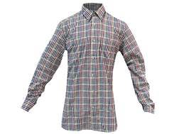 Beretta Men's Seersucker Shirt Long Sleeve Cotton