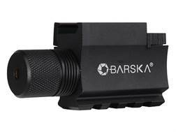Barska GLX Laser Sight 5mW Green Laser with Integral Weaver-Style Mount and Momentary Switch Black