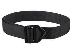 "Wilderness Tactical C.S.M. Instructor Belt 1-3/4"" Black Steel Buckle Nylon Black 30"""