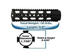 Yankee Hill Machine Free Float Tube Handguard Lightweight Quad Rail AR-15 Aluminum Matte