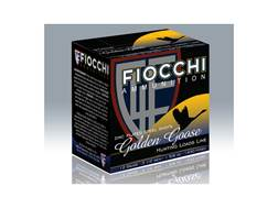 "Fiocchi Golden Goose Ammunition 12 Gauge 3-1/2"" 1-5/8 oz BB Non-Toxic Steel Shot"