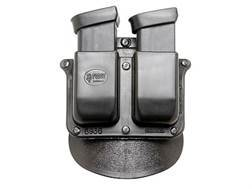 Fobus Paddle Double Magazine Pouch Glock 36 Polymer Black