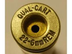 Quality Cartridge Reloading Brass 22-6mm Remington Box of 20