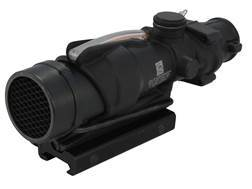 Trijicon ACOG TA31RCO BAC Rifle Scope 4x 32mm M4 Military Version Dual-Illuminated Red Chevron 223 Remington Reticle with TA51 Flattop Mount Matte