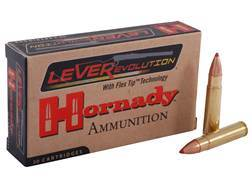 Hornady LEVERevolution Ammunition 35 Remington 200 Grain Flex Tip eXpanding Box of 20