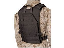 Blackhawk S.T.R.I.K.E. Lightweight Commando Recon Back Panel Nylon Ripstop Black