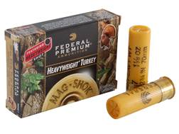 "Federal Premium Mag-Shok Turkey Ammunition 20 Gauge 2-3/4"" 1-1/8 oz #7 Heavyweight Shot Box of 5"