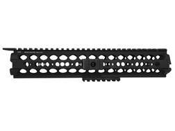 Midwest Industries SS-Series 2-Piece Drop-In Modular Rail Handguard AR-15 Rifle Length Aluminum Black