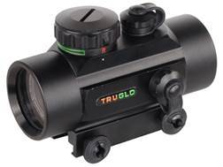 TRUGLO Red Dot Sight 30mm Tube 1x 5 MOA Red and Green Dot Reticle with Integral Weaver-Style Base...