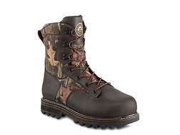 "Irish Setter Gunflint II 10"" Waterproof 1000 Gram Insulated Hunting Boots Leather and Nylon Mossy Oak Break-Up Infinity Camo Men's"